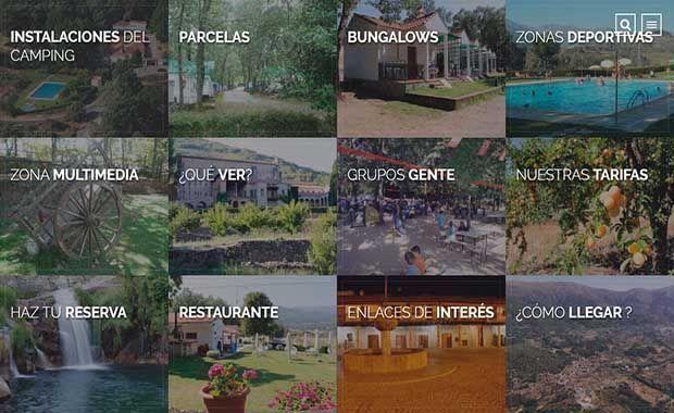 Diseño página web campingcarlosprimero.es