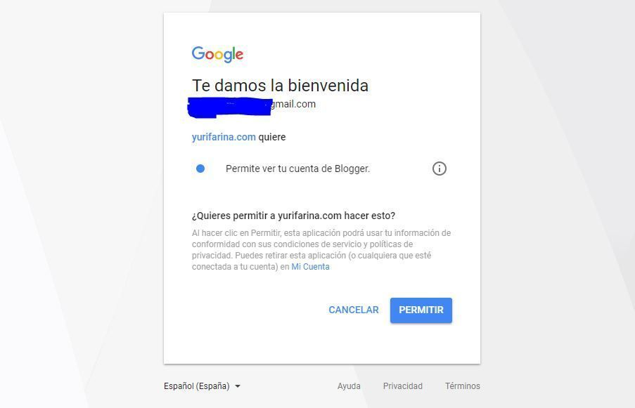 google - migrar