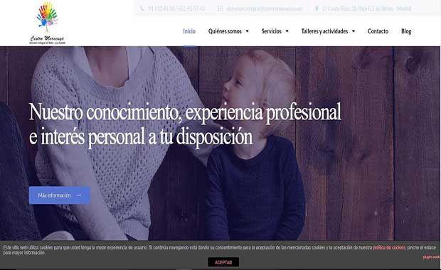 Modificaciones página web centromaracuya.es