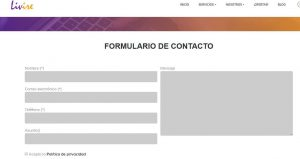 Formulario de contacto con el plugin de WordPress Contact Form 7