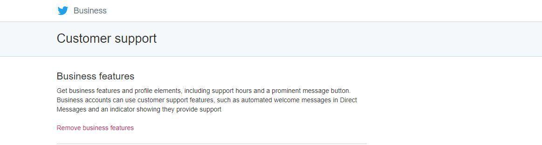 Soporte - Horario de atención cliente en twitter