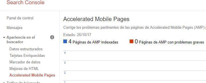 Qué es Google Search Console - AMP