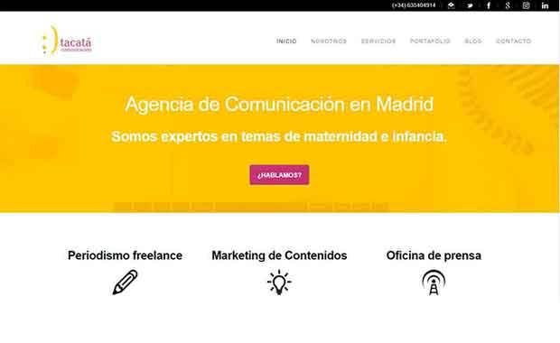 paginas web - posicionamiento seo - livire - tacata