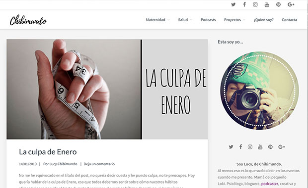 Optimización y diseño de blog