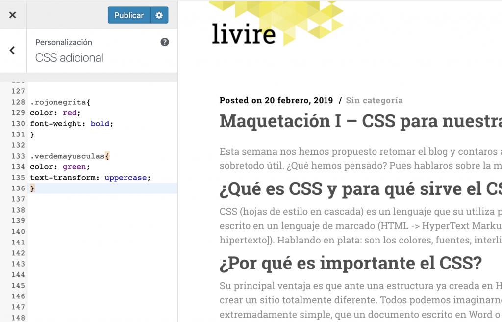 Maquetar CSS I - CSS adicional