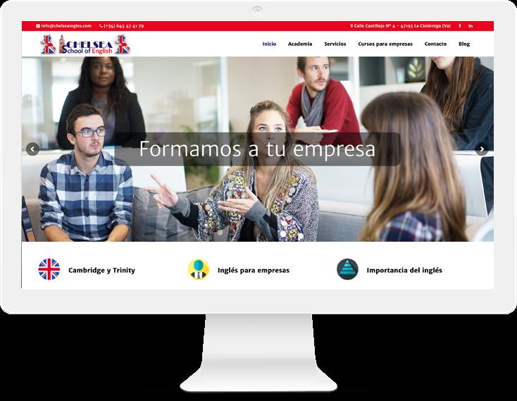 diseño web en empresas locales Valladolid - livire