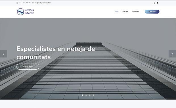 diseño web neteges miranet