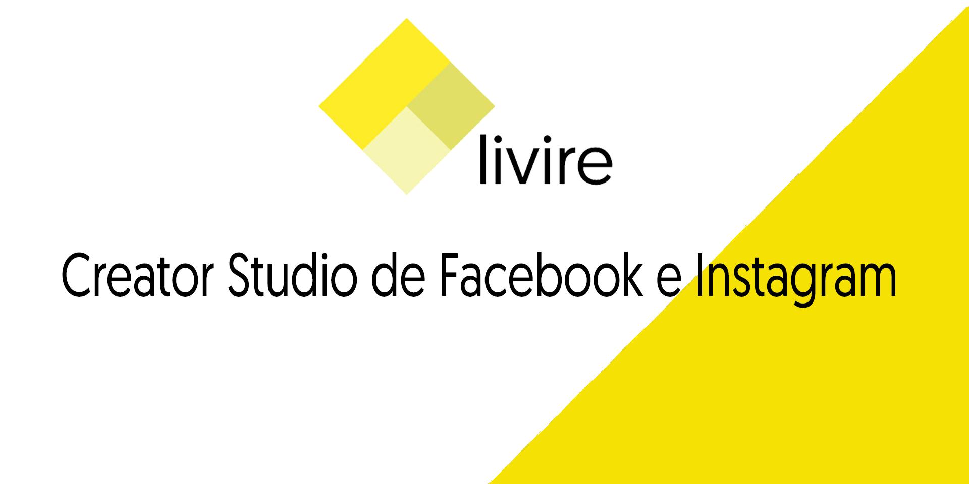 Creator Studio de Facebook e Instagram