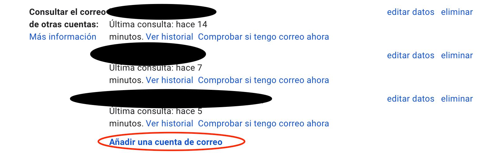 Configurar email corporativo - 2 añadir cuenta