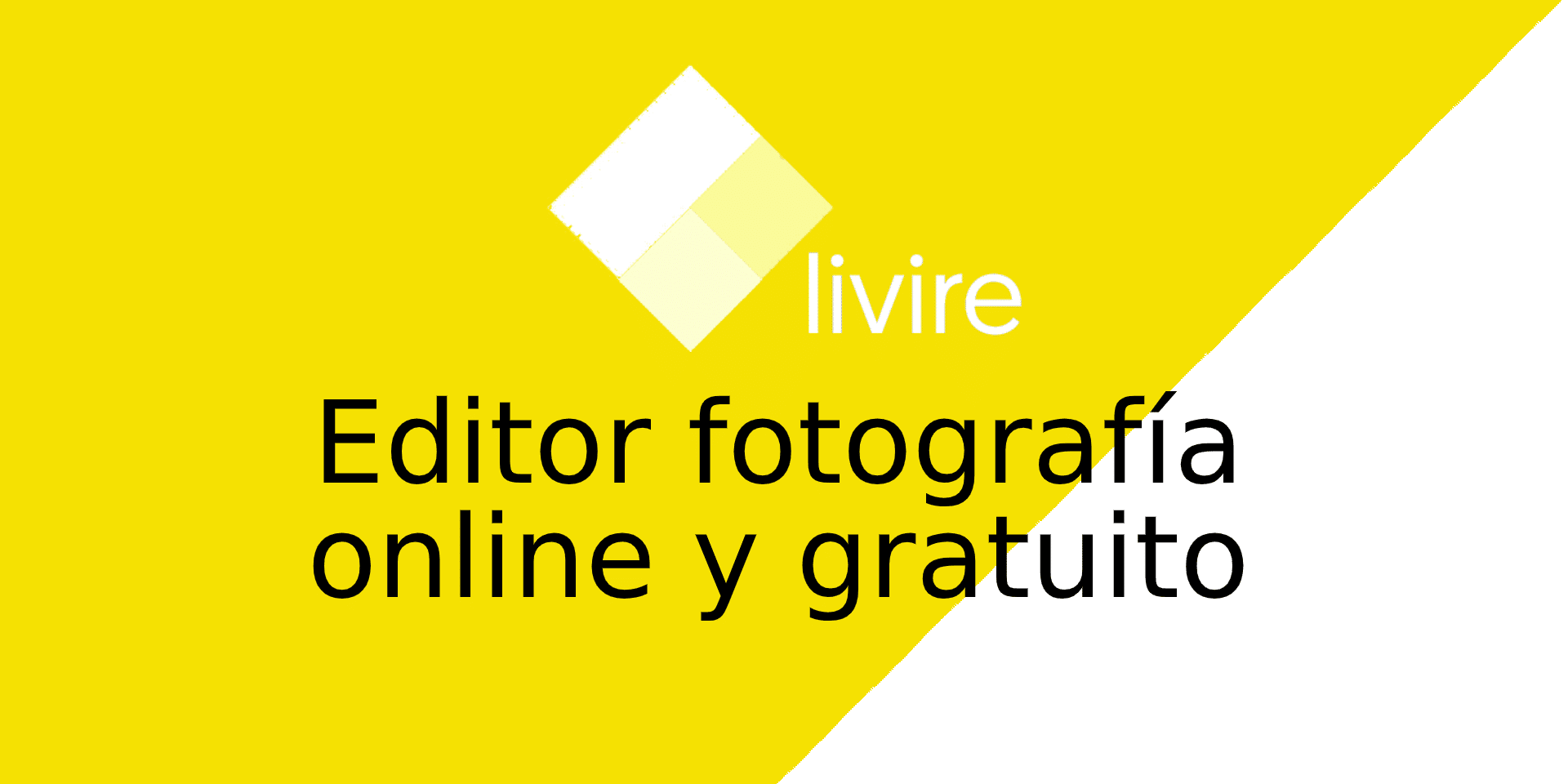 Editor de fotografia gratuito
