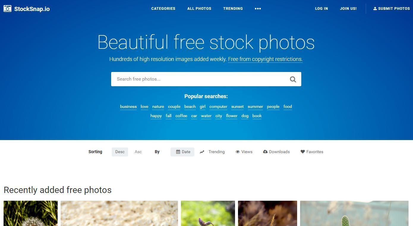 imágenes gratis stocksnap