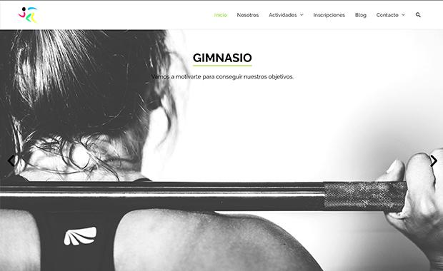 Diseño y desarrollo de Fitness Dance Valladolid