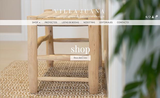 diseño y desarrollo web villa-juana.com