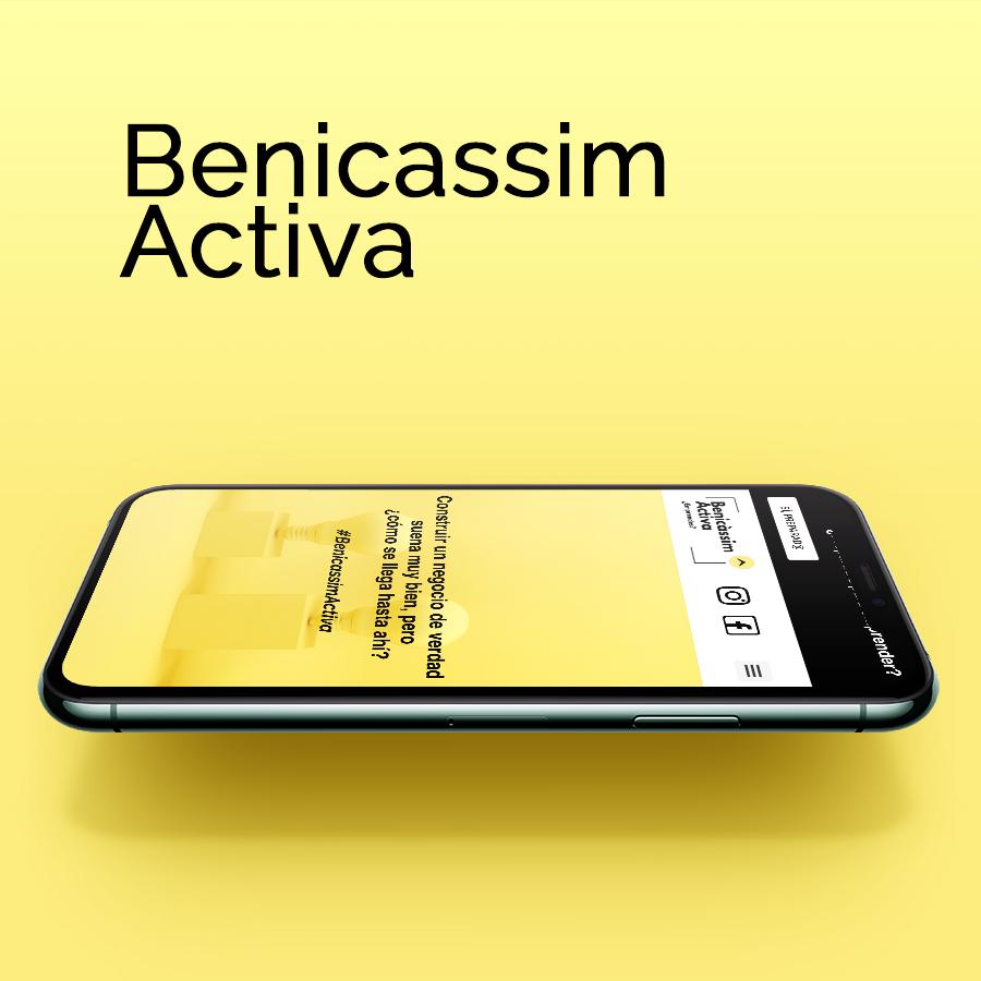 Diseño web y desarrollo de benicassimactiva.com