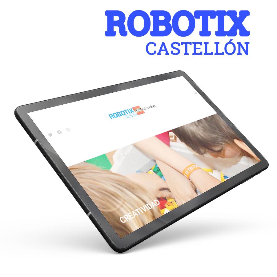 Diseño y desarrollo web Robotixcastellon.com