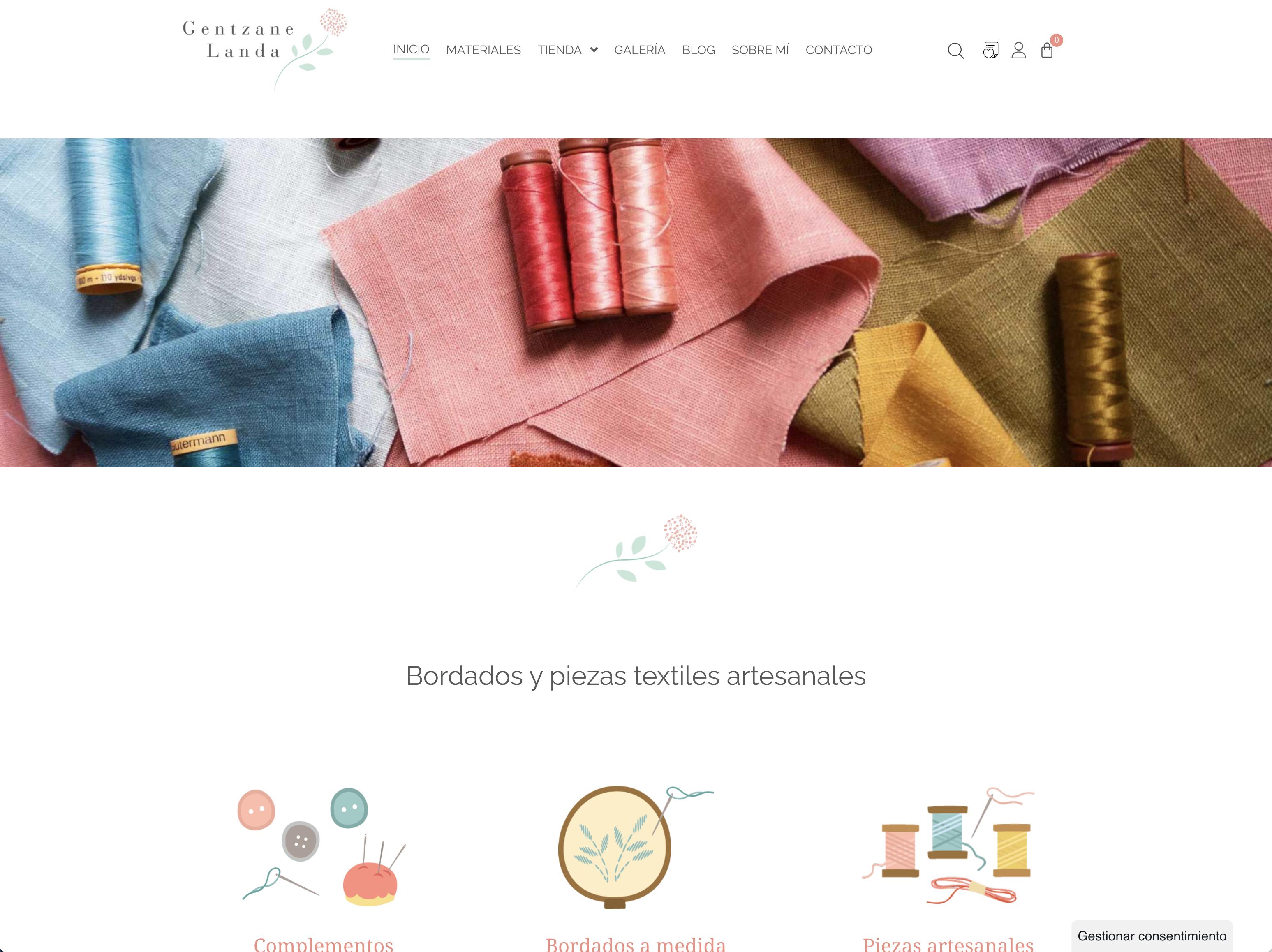 Diseño y desarrollo Gentzane Landa - gentzanelanda.com