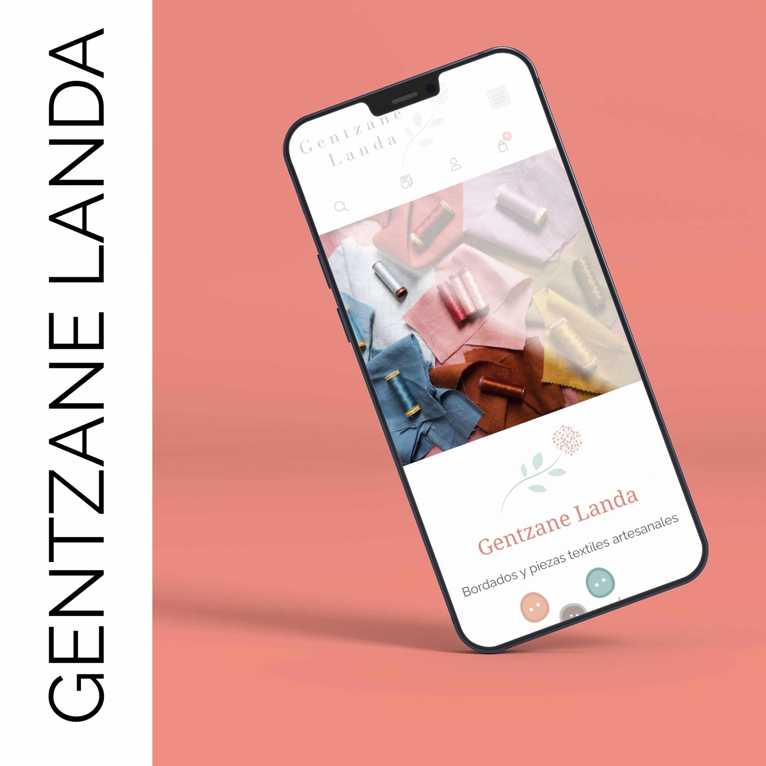 Diseño y desarrollo Gentzane Landa