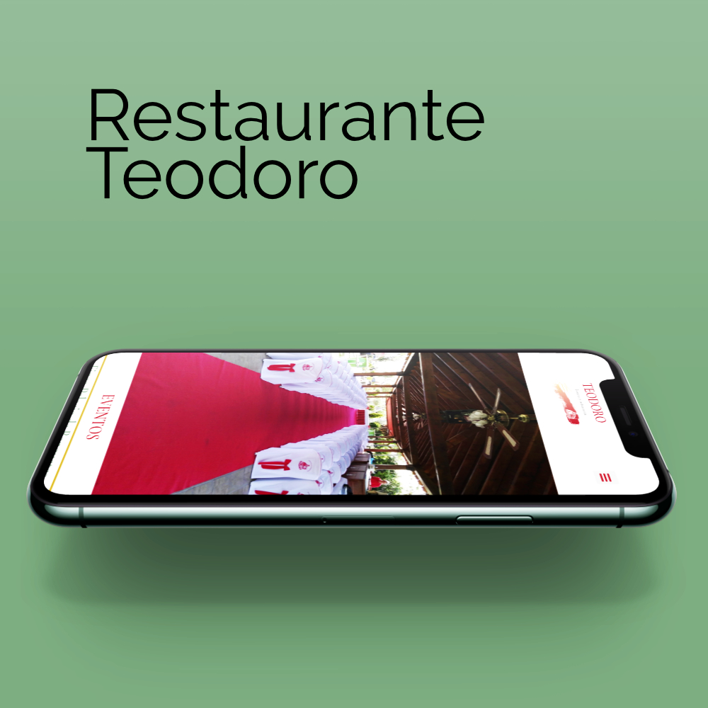Diseño y desarrollo restauranteteodoro.es