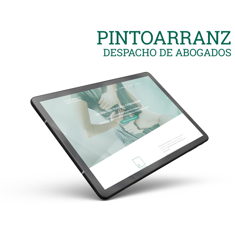 diseño y desarrollo pintoarranz.com